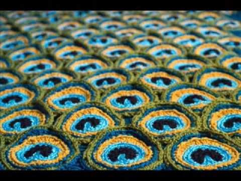 Peacock Pretty Blanket Pattern Crochet Blanket Pattern