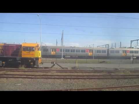 Brisbane to Gympie North by train and bus. John Coyle video.