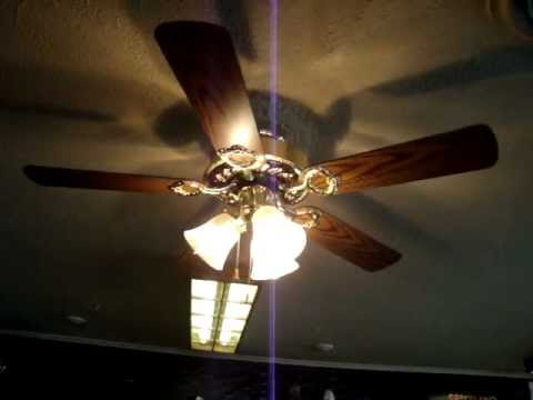 "wal-mart impressions 42"" ceiling fan - youtube"