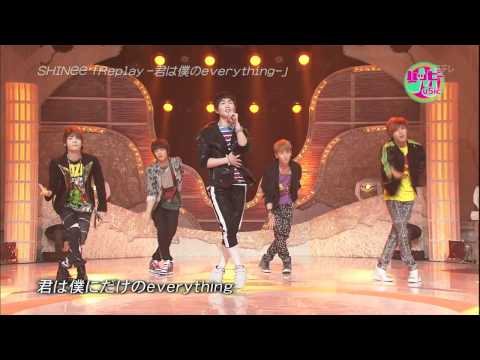 110625 SHINee - Intro+Replay@HappyMusic