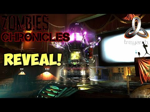 ZOMBIES CHRONICLES OFFICIAL TRAILER REVEAL & LIVE REACTION BLACK OPS 3 Treyarch