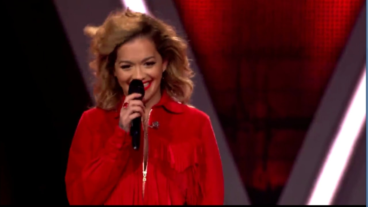 Voice Of Germany Rita Ora