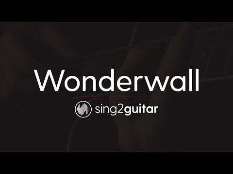 Wonderwall (Acoustic Guitar Karaoke Instrumental) Oasis