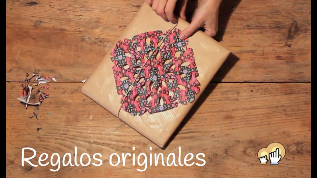 C mo envolver regalos de forma original y f cil for Regalos originales de manualidades