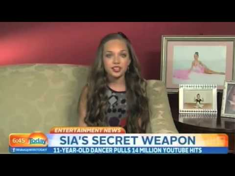 Mad Ziegler Interview At Today Show About Being In Sia S Music Video Chandelier