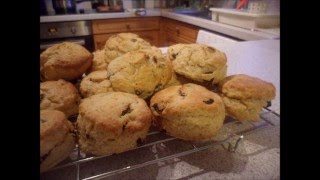 How to Make FLUFFY  FRUIT SCONES  ENGLISH STYLE !!!