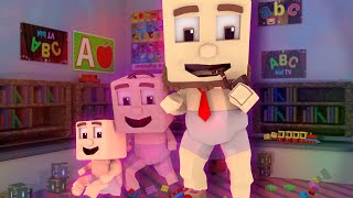 Minecraft | MONSTER BABY DAYCARE - Baby Turns into ADULT! (Minecraft Roleplay)