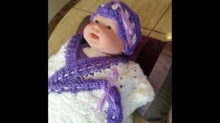 Crochet Easy Beautiful Baby Headband DIY tutorial