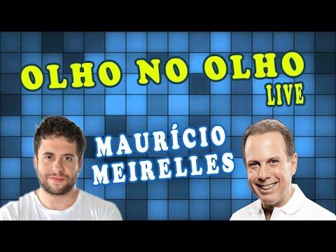 Olho no Olho Live - João Doria entrevista o comediante Maurício Meirelles