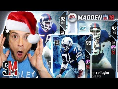 LTD Ed Too Tall Jones & New Lawrence Taylor Gift!? Madden NFL 18