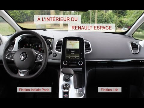 A l 39 int rieur du renault espace 5 youtube for Renault 6 interieur