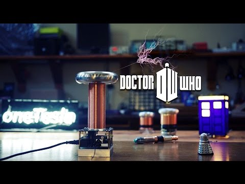 Tesla Coil Plays Doctor Who Theme