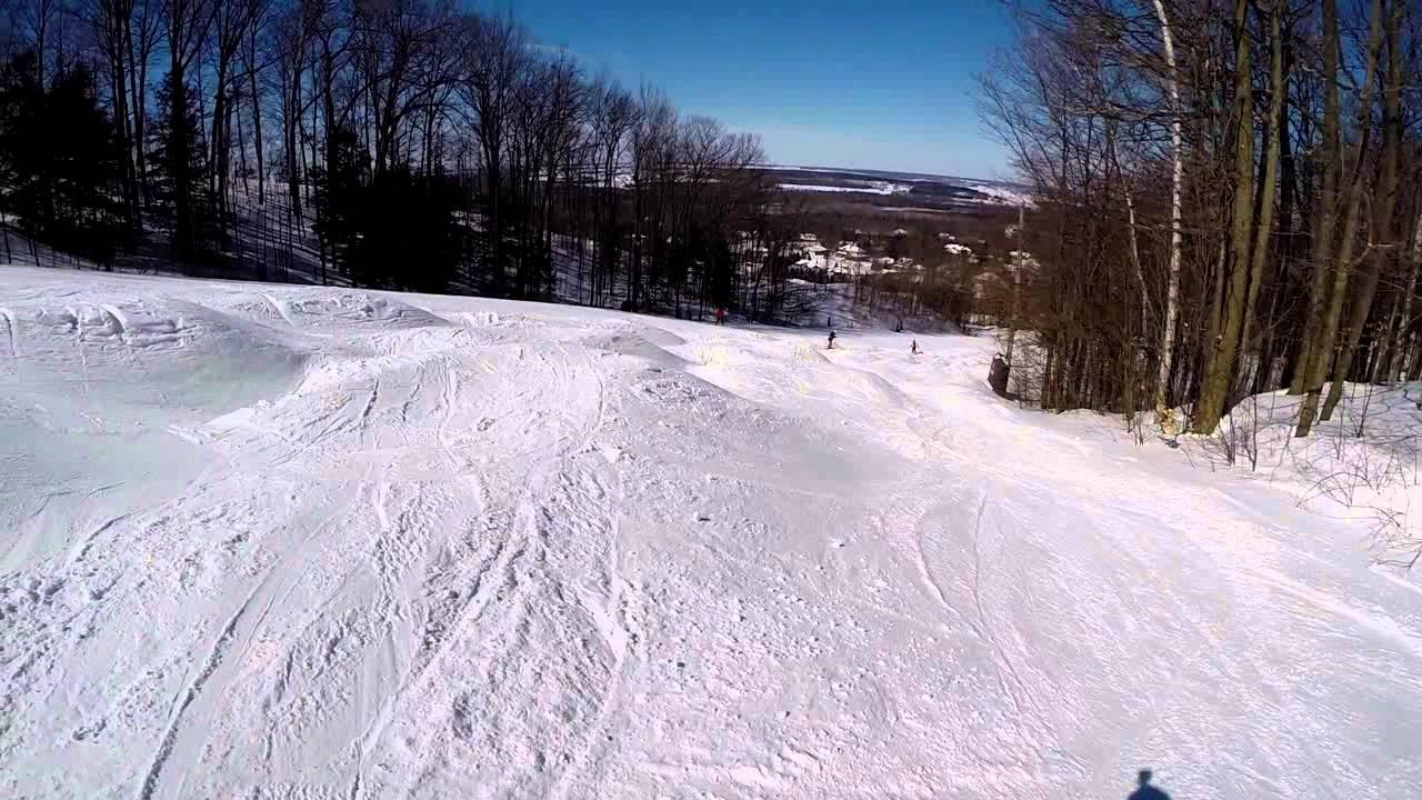 snow valley barrie ontario canada 2014 - youtube