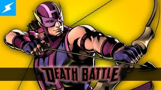 Hawkeye lines up his shot for a DEATH BATTLE!