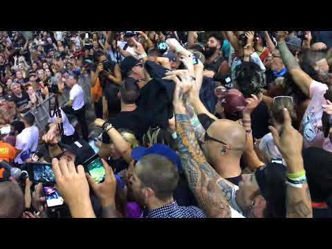 Pennywise Bro Hymn August 5, 2018 West Palm Warped Tour