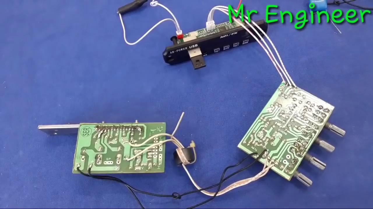 Diy Make Bluetooth Amplifier In Urdu Youtube Bluetoothcircuit