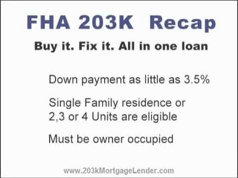 FHA 203k How Homebuyers & Homeowners Can Use 203k FHA Loans