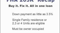 FHA 203k How Homebuyers & Homeowners Can Use 203k FHA Loans