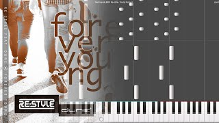 Download Re-style - Forever Young ft. Dune (Darmayuda MIDI Piano)
