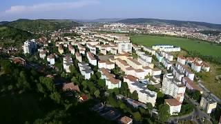 Medias Gura Campului Romania Transilvania From Drone