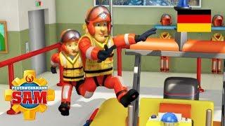 Feuerwehrmann Sam Deutsch Neue Folgen | Der gestrandete Wal -  Neptun rettet 🚒Kinderfilme