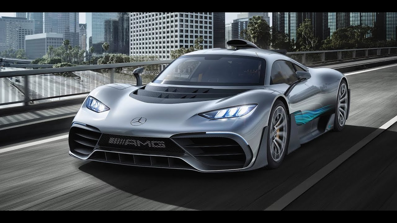 Mercedes Amg Project One 1 000hp Hybrid Trailer