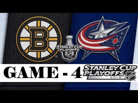 Boston Bruins vs Columbus Blue Jackets | Second round | Game 4 | Stanley Cup 2019 | Обзор матча
