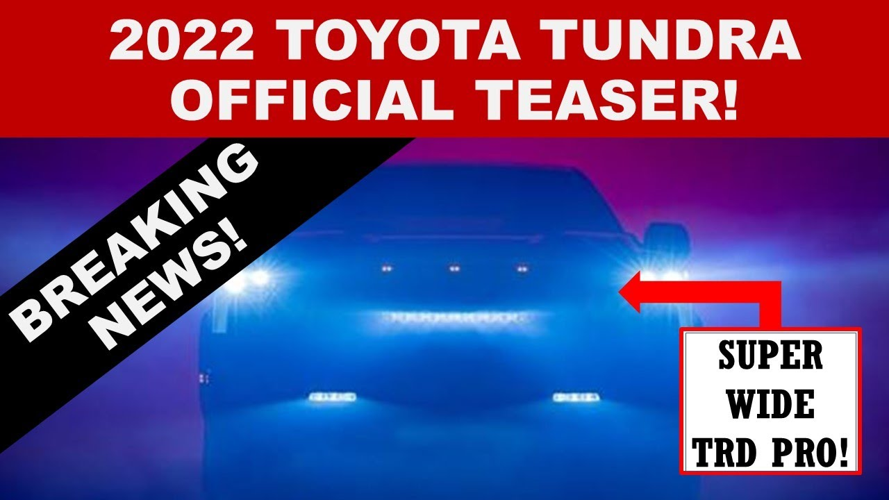 BREAKING NEWS! 2022 TOYOTA TUNDRA OFFICIAL TEASER FROM TOYOTA!