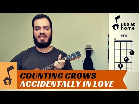 Counting Crows - Accidentally In Love   Ukulele Tutorial