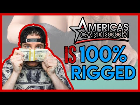 Americas Cardroom Rigged 2020 | Super User Exposed