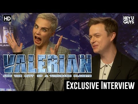 Cara Delevingne & Dane DeHaan Exclusive - Valerian and the City of a Thousand Planets