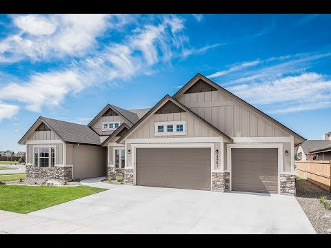 New Homes by Eaglewood Homes:  The Victoria Bonus in Boise Idaho