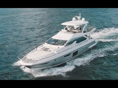2018 Azimut 72 Flybridge For Sale at MarineMax Miami