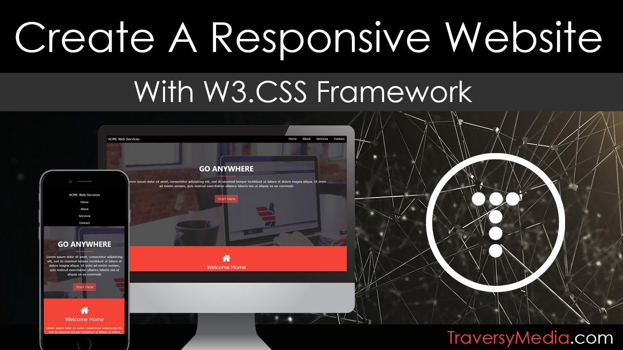 Create a Responsive Website With the W3 CSS Framework