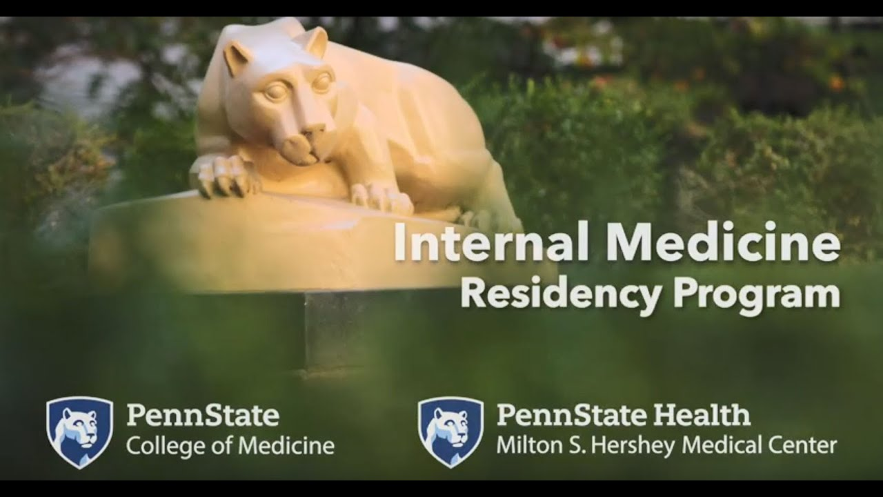 Internal Medicine Residency – Penn State College of Medicine