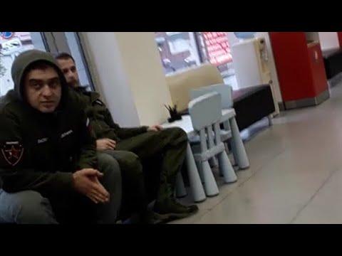 Беспредел Альфа Банка отмороженные охранники выставляют клиента