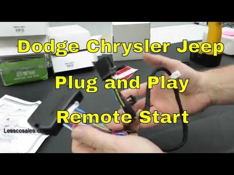 Flashlogic Plug /& Play Remote Start for 2010 Dodge RAM 2500 Brand New