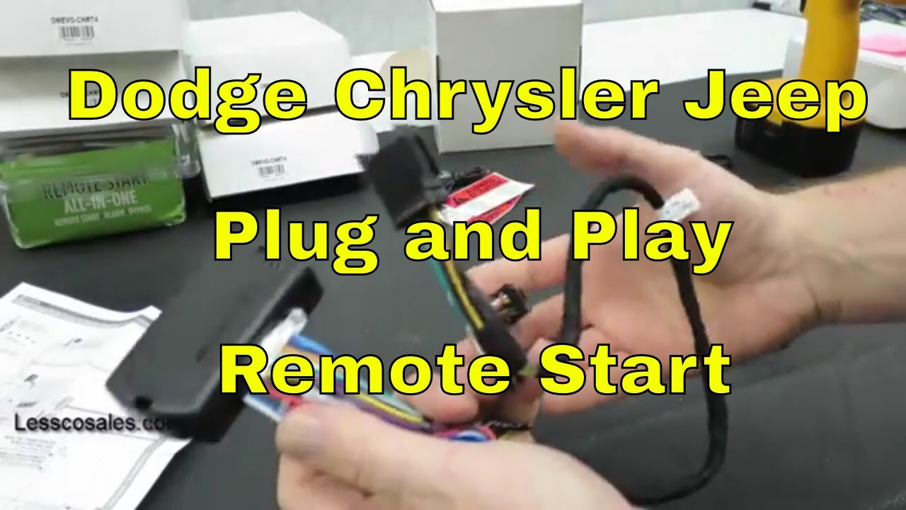Plug /& Play Remote Start Add On For 2007 2008 Dodge Ram 1500 Factory Add On