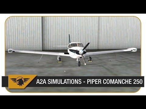 [Prepar3D] A2A Simulations Piper Comanche 250 - First Look | ORBX Pago Pago (NSTU)