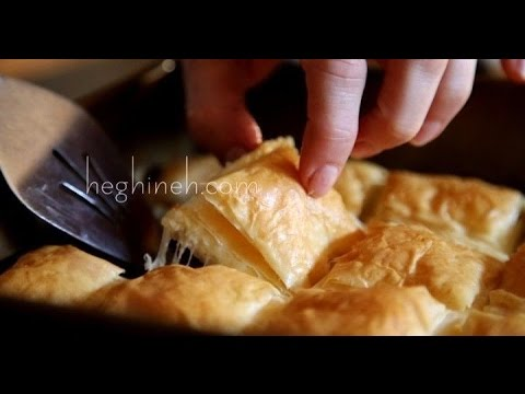 Պանրահաց - Cheese Borek Recipe - Heghineh Cooking Show