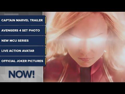 Captain Marvel, Avengers 4, Joker - ComicBook NOW!