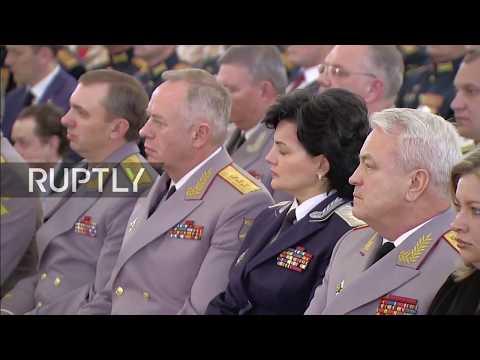 LIVE Putin presents national awards on Fatherland Day at Kremlin Palace