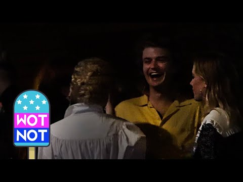 Stranger Things' Natalia Dyer, Charlie Heaton, Joe Keery & Girlfriend Maika Monroe Spotted at Party