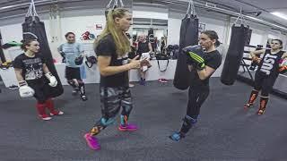 Обучение тайскому боксу для девушек. Тренер: Светлана Винникова (Чемпионка Мира по тайскому боксу)к