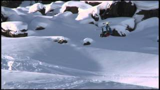 KC Deane - Backcountry Slopestyle run 1 - Swatch Skiers Cup 2013