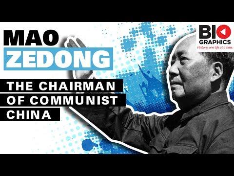 Mao Zedong: The Chairman of Communist China