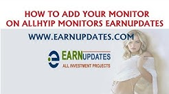 How to Add your monitor in all hyip monitors on earnupdates