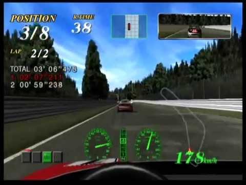 Oldschool Racing with Ferrari F355 Challenge on Sega Dreamcast