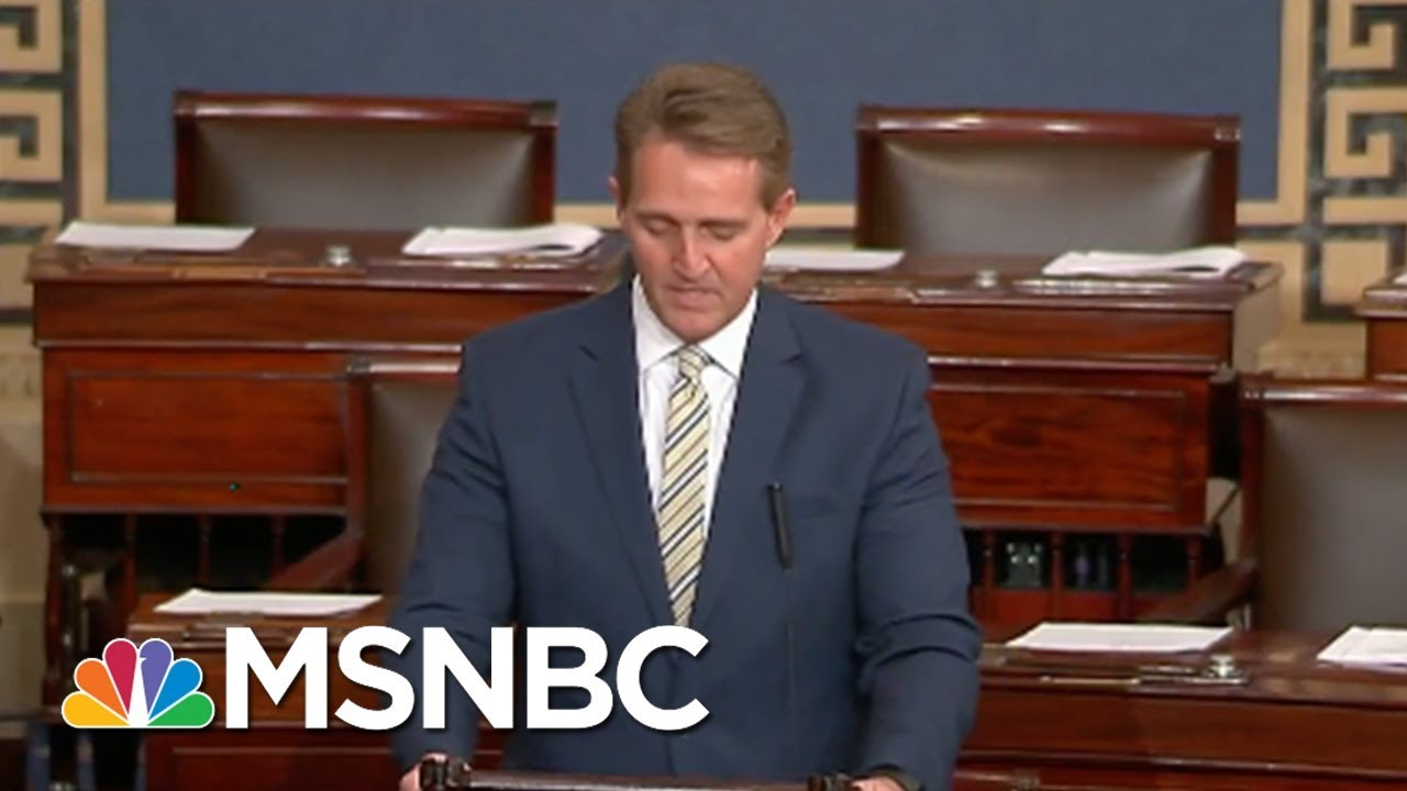 senator-jeff-flake-white-house-assault-on-press-unprecedented-msnbc