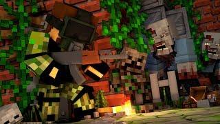 ВЫЖИВАНИЕ В ЗОМБИ АПОКАЛИПСИС В МАЙНКРАФТ ДЕЙЗ - Minecraft DayZ